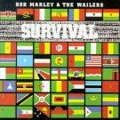 BOB MARLEY & THE WAILERS survival  MINI VINYL CD  1979 REGGAE