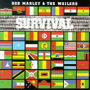 BOB MARLEY & THE WAILERS survival  MINI VINYL CD  1979 REGGAE