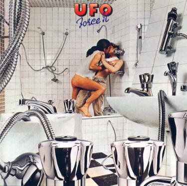 UFO force it CD FORMATO MINI VINIL 1975 HARD ROCK