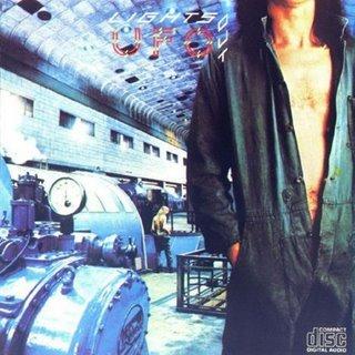 UFO lights out CD FORMATO MINI VINIL 1977 HARD ROCK