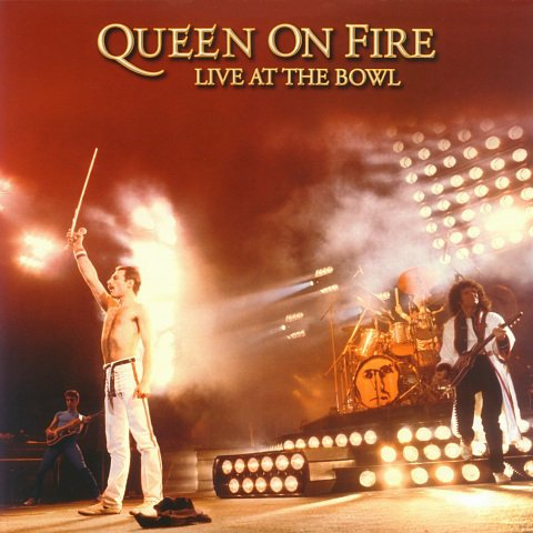 QUEEN live at the bowl 2CD + DVD 1992 ROCK