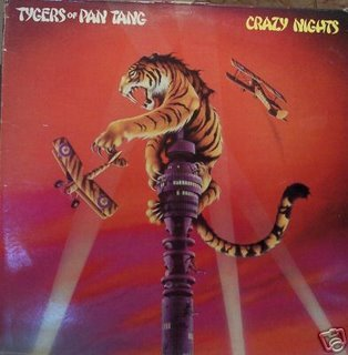 TYGERS OF PAN TANG crazy nights CD 1981 HEAVY METAL