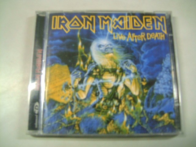 IRON MAIDEN live after death 2CD 1985 HEAVY METAL