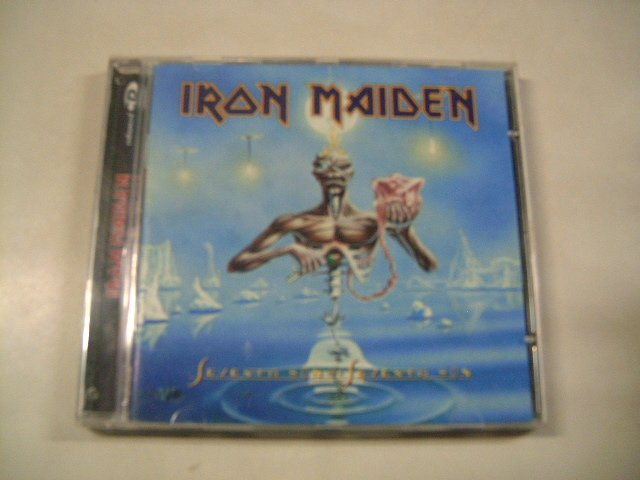 IRON MAIDEN seventh son of a seventh son CD 1987 HEAVY METAL