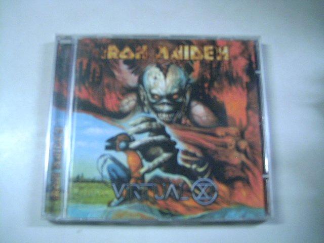 IRON MAIDEN  virtual XI CD 1998 HEAVY METAL