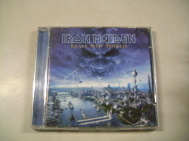 IRON MAIDEN brave new world CD 2000 HEAVY METAL