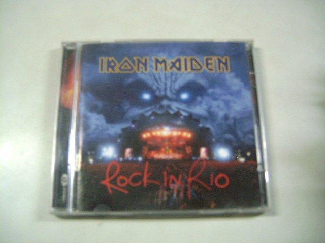 IRON MAIDEN rock in rio 2CD 2002 HEAVY METAL