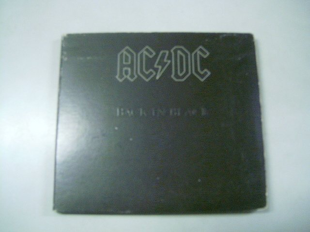 AC/DC back in black DIGIPACK CD 1980 ROCK