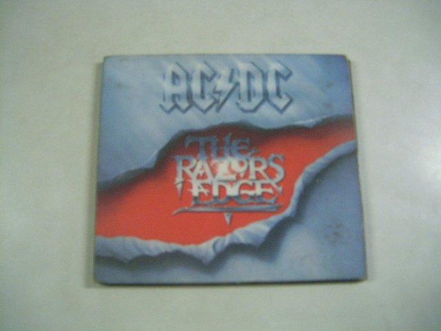 AC/DC the razors edge DIGIPACK CD 1990 ROCK