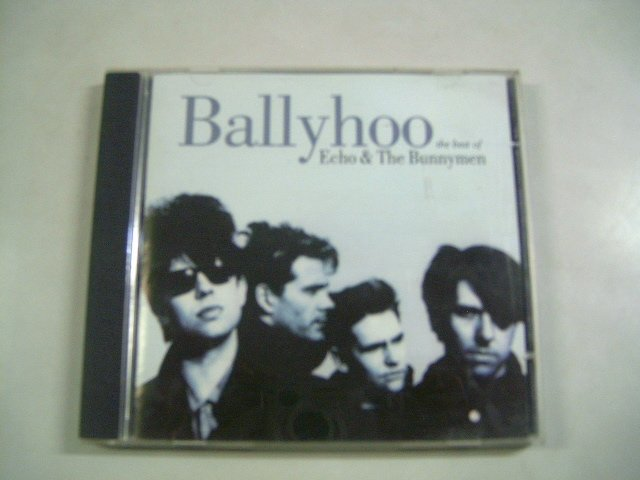 ECHO & THE BUNNYMEN ballyhoo - the best of echo & the bunnymen CD 1997 P�S PUNK
