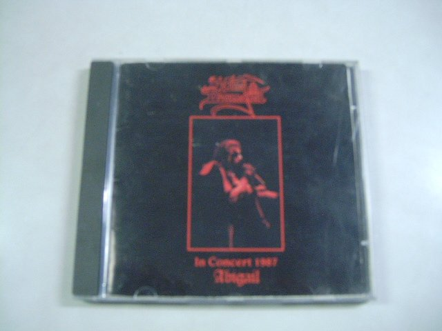 KING DIAMOND in concert 1987 - abigail CD 1987 HEAVY METAL