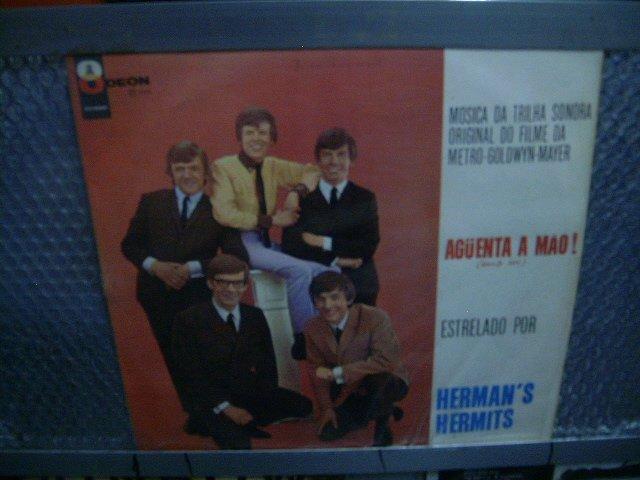 HERMAN'S HERMITS aguenta a mão! trilha sonora LP 1966 ROCK**