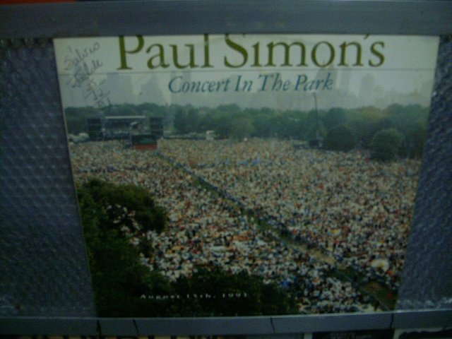 PAUL SIMON paul simon's concert in the park 2LP 1991 ROCK**
