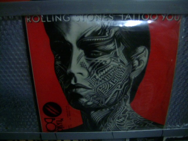 ROLLING STONES tattoo you LP 1981 ROCK