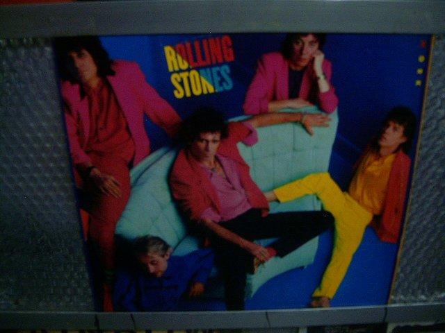 ROLLING STONES dirty work LP 1986 ROCK**