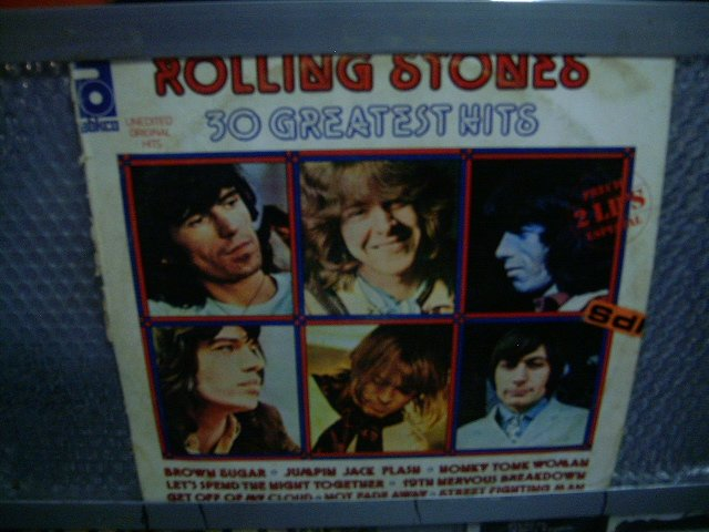ROLLING STONES 30 greatest hits 2LP 1977 ROCK