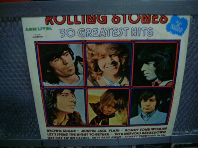 ROLLING STONES 30 greatest hits 2LP 1977 ROCK