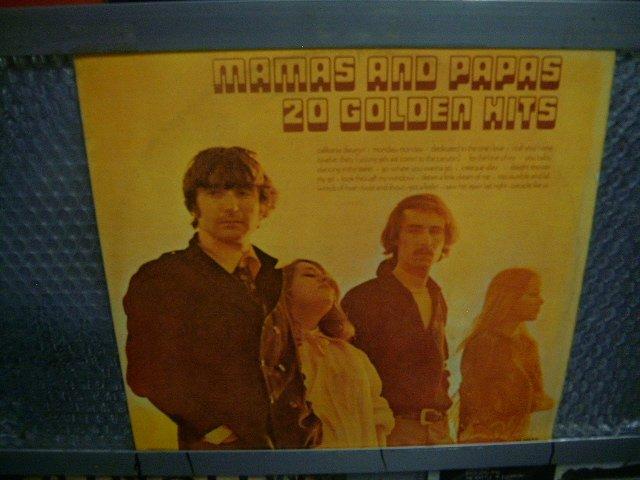THE MAMAS & THE PAPAS 20 golden hits 2LP 1977 POP
