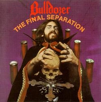 BULLDOZER the final separation CD 1985 THRASH METAL