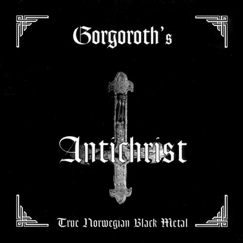 GORGOROTH antichrist CD 1995 BLACK METAL