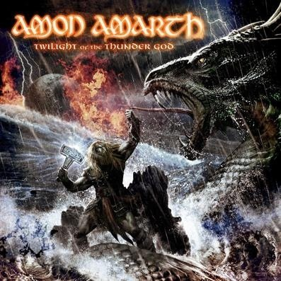 AMON AMARTH twilight of the thunder gods CD 2008 VIKING DEATH METAL