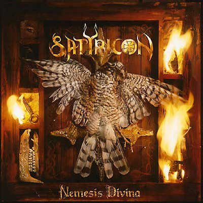 SATYRICON nemesis divina + megiddo ep CD 1996 / 1997 BLACK METAL