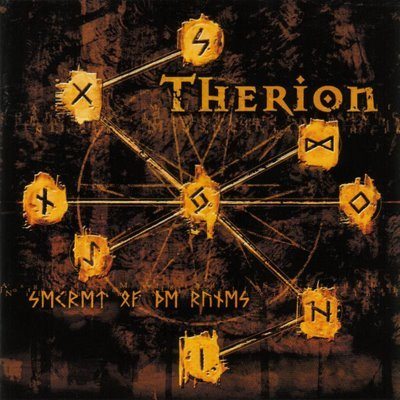 THERION secret of the runes + bonus CD 2001 SYMPHONIC HEAVY METAL