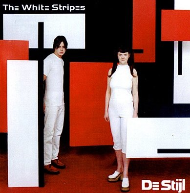 THE WHITE STRIPES destijl CD 2001 ROCK
