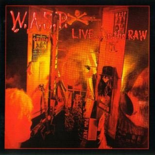 WASP live...in the raw CD 1989 HEAVY METAL