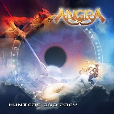 ANGRA hunters and prey CD 2002 HEAVY METAL