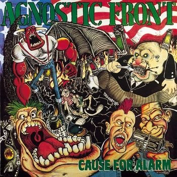 AGNOSTIC FRONT cause for alarm CD 1986 HARDCORE