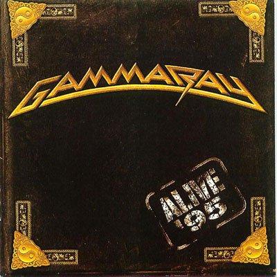 GAMMA RAY alive 95 CD 1996 HEAVY METAL