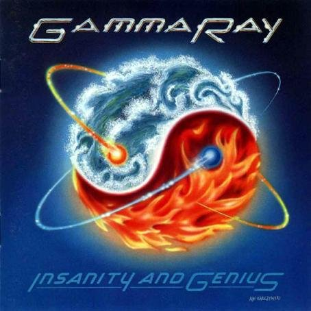 GAMMA RAY insanity and genius CD 1993 HEAVY METAL
