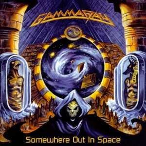 GAMMA RAY somewhere out in space CD 1997 HEAVY METAL