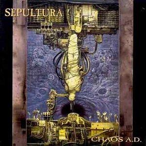 SEPULTURA chaos a.d. CD 1993 THRASH METAL