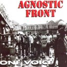 AGNOSTIC FRONT one voice CD 1992 HARDCORE