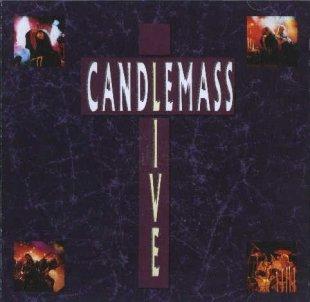 CANDLEMASS live CD 1990 DOOM METAL