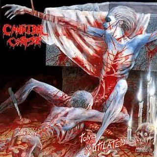 CANNIBAL CORPSE tomb of the mutilated CD 1992 DEATH METAL