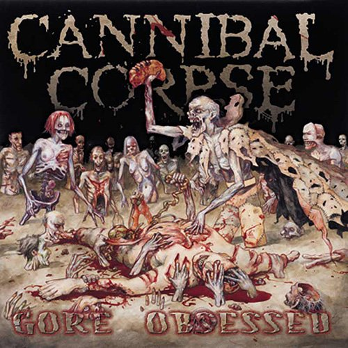 CANNIBAL CORPSE gore obsessed CD 2002 DEATH METAL