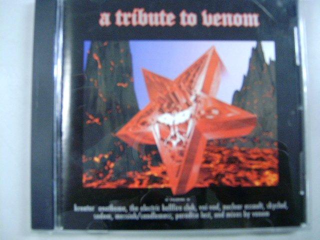A TRIBUTE TO VENOM a tribute to venom CD 1998 BLACK METAL