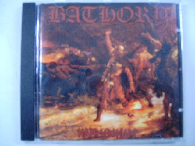 BATHORY hammerheart CD 1990 VIKING METAL