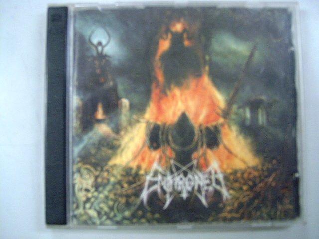 ENTHRONED prophecies of pagan fire 2CD 1999 BLACK METAL