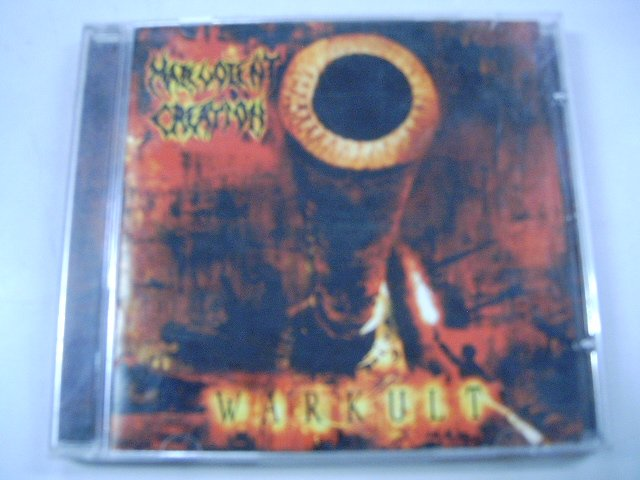 MALEVOLENT CREATION warkult CD 2004 DEATH METAL