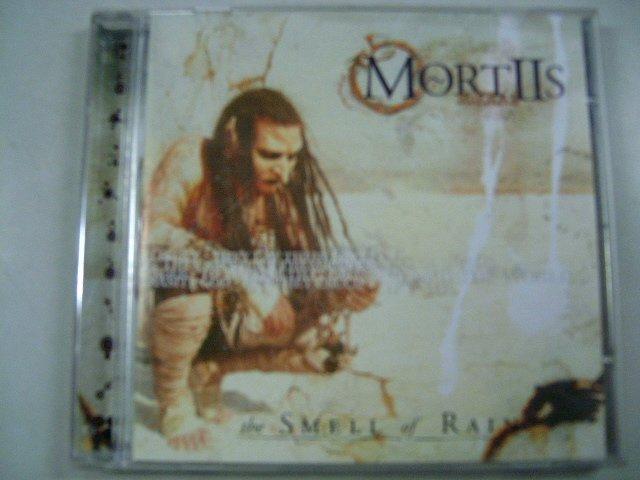 MORTIIS the smell of rain CD 2001 EBM