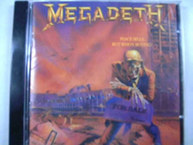 MEGADETH peace sells...but who's buying ? CD 1986 THRASH METAL**
