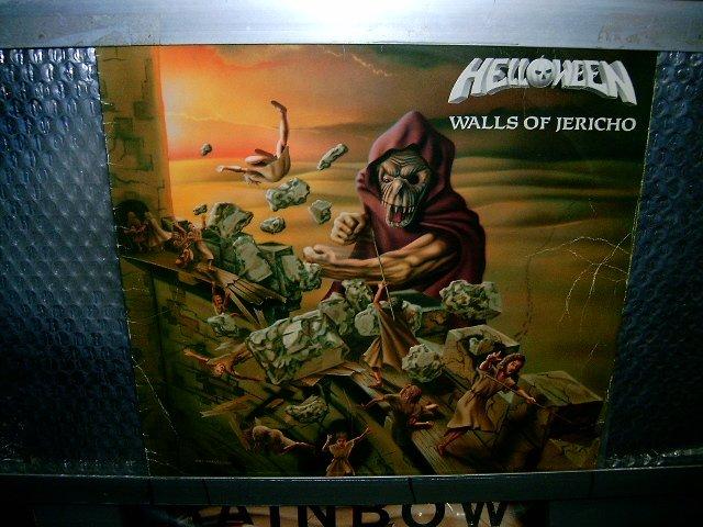 HELLOWEEN walls of jericho LP 1986 HEAVY METAL