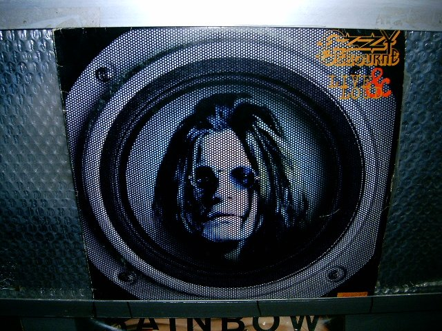 OZZY OSBOURNE live & loud 2LP 1993 HEAVY METAL