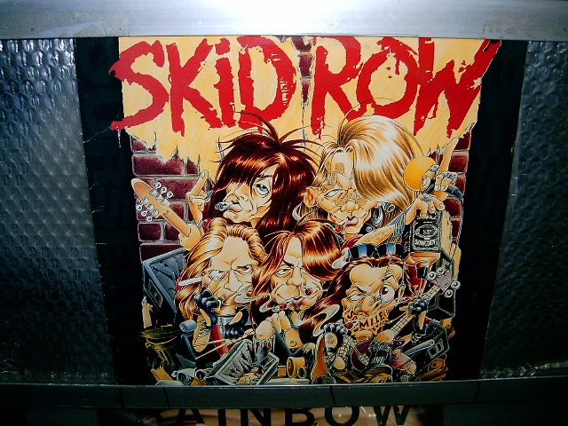 SKID ROW b-side ourselves LP 1992 HARD ROCK