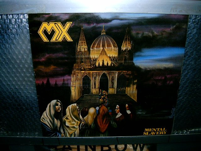 MX mental slavery LP 1989 THRASH METAL