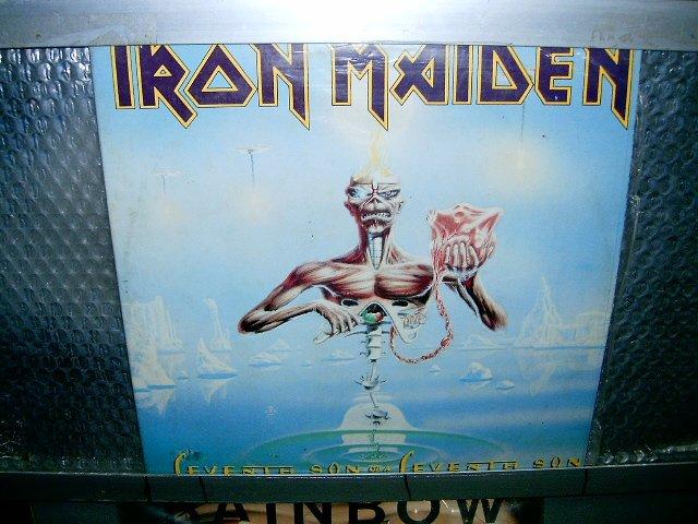 IRON MAIDEN seventh son of seventh son LP 1987 HEAVY METAL*